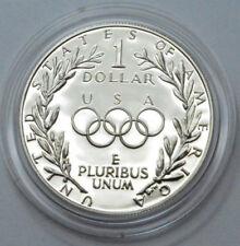 1988-S Proof US Olympic / Olympiad Dollar 90% Silver