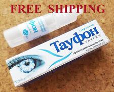 Taufon (taurine) eye drops 4% 10ml, Russian medicine ТАУФОН