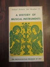 Metropolitan Museum of Art School Picture Set #2 History of Musical Instruments