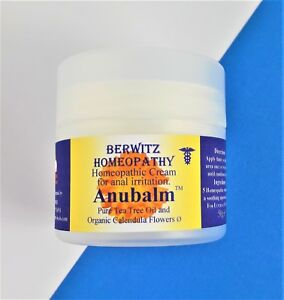 AnuBalm Homeopathy Cream Natural Soothing Anal Itching All Irritation 50g Jar