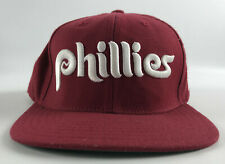 Philadelphia Phillies American Needle Baseball Hat Red 1980s Vintage