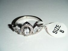 Fragrant Jewels Crown Womens Ring Size 8 (Ref #001)
