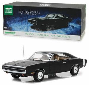 1/18 Greenlight Dodge Charger 1970 Supernatural Neuf Boite Livraison Domicile