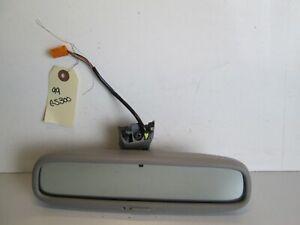 98-05 LEXUS GS300 GS400 REAR VIEW MIRROR WINDSHIELD AUTO DIMMING OEM GRAY GREY