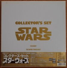 STAR WARS COLLECTOR'S SET 4 discs LD Laser Disc PILF-2070 Limited PIONEER JAPAN