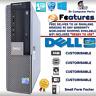 FAST DELL QUAD CORE PC COMPUTER DESKTOP TOWER WINDOWS 10 WIFI DUAL PC