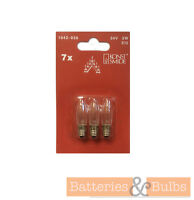 3w 34v E10 Christmas Candle Arch Bridge Replacement Spare Screw Bulbs x3