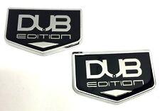 x2 New DUB Edition Emblem LowRider 22s 24s 26s 28s Cutlass Denali Tahoe Escalade
