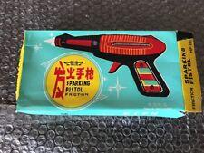 """China MF-116 SPACE RAY GUN """"SPARKLING PISTOL"""" Tin Space Gyro Toy MIB`60 TOP RARE"""