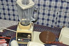 Vintage Oster Regency 12 Speed Power Kitchen Center Mixer Blender Food Processor