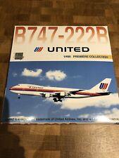 Dragon Wings Premiere 1:400 United Airlines 747-222B 200 N152UA Saul Bass 55116