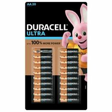 Duracell Ultra Power AA Alkaline Batteries With Powercheck - 20 Pack