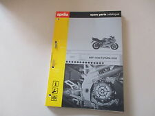 Teile Katalog spare parts catalogue Aprilia RST 1000 FUTURA Modelljahr 2001