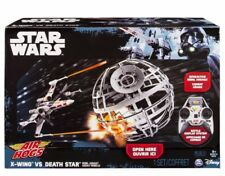 Collectible Air Hogs StarWars X-wing vs. Death Star Rebel Assault RC Drones Set