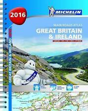 Great Britain & Ireland 2016 - Michelin main roads atlas (A4 spiral) (Michelin T