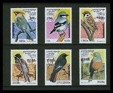 Cambodia #1598-1603 Birds Set from 1997 MNH