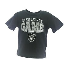 Oakland Raiders Official Nfl Apparel Infant Baby Toddler Size T-Shirt New Tags