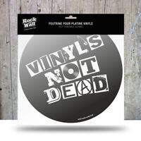 RockonWallUSA - Vinyl Record Player Felt Turntable Slip Mat - Vinyl's not Dead