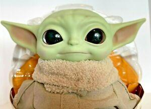 "Baby Yoda / Grogu Doll Star Wars Mandalorian/The Child 11"" Plush/Mattel/GWD85"