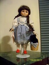 Bradley's Collectible Dolls- Wizard Of Oz Dorothy with Toto