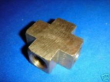 Brass 1/4 NPTF Cross fitting  by ANDERSON 102-AB