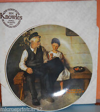 """""""Lighthuse Keepers Daughter"""" 1979 Collector Plate by Norman Rockwell"""