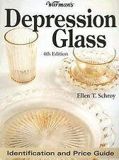 NEW - Warmans Depression Glass: Identification And Price Guide (4th Edition)