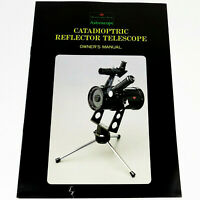 *CATADIOPTRIC REFLECTOR TELESCOPE OWNER'S MANUAL* Abercrombie & Fitch ASTROSCOPE