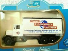 LLEDO DIECAST MODEL VAN SCAMMEL 6 WHEELER MANX INDEPENDENT CARRIERS RAMSEY LTD