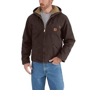 NWT Carhartt J141 Sierra Sherpa-Lined Insulated Jacket cotton duck Mens 4XL