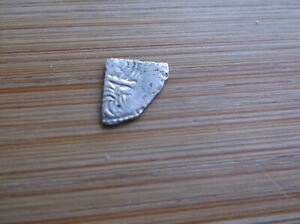 NICE HAMMERED KING HENRY II SILVER TEALBY CUT FARTHING QTR PENNY COIN