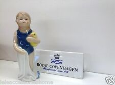 Royal Copenhagen Autocollants Instruction Else Maillot de bain Standing fille en