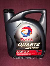 TOTAL Quartz Ineo First 0W-30 Motorenöl 5 Ltr Peugeot & Citroen B71 2312 Motoröl