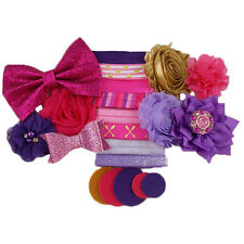 Sweet & Sassy - Mini DIY Headband Kit - 8 Bands - Baby Shower Birthday Party