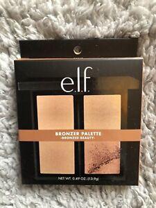 e.l.f. ELF Bronzer Palette Bronzer Beauty Sun Kissed Sculpted 13.9g Mirror New