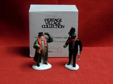 Super Sale-Dept 56 Dickens Village Town Crier & Chimney Sweep -