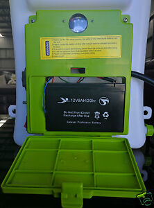 NEW 16L INDUSTRIAL ELECTRIC RECHARGEABLE BATTERY KNAPSACK WEED FARM SPRAYER X