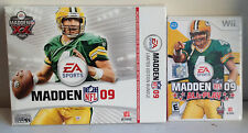Madden NFL 09: All-Play With Limited Edition Bundle - Nintendo  Wii Game - EA