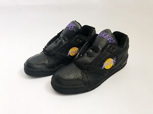 vintage converse ox los angeles lakers shoes mens size 7.5 deadstock NIB 90s NOS