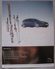 2003 Jaguar X-type estate Original advert