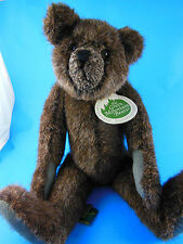 Mary Meyer Green Mountain Bear Mansfielld jointed handmade teddy Carol Carini