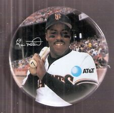 """Kevin Mitchell San Francisco Giants 1990 AT&T 3"""" Pin-Back Button - 1989 NL MVP"""