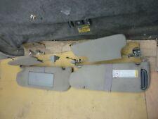 95thru05 Chevy Astro Van Sunvisors Left and Right Pair Tan(Oem)