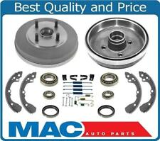 Braking New Brake Drums Shoes Springs Bearings WITH OUT ABS for Kia Rio 03-05
