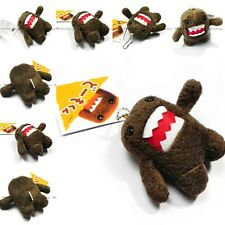 Best Selling For Domo Kun 8CM Plush Doll Toy Keychain Baby Kids Cell Phone Strap