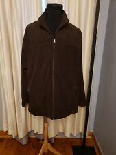 NWT Falls Creek Brown Fleece Jacket Big & Tall Size XXXL Full Front  Zip