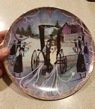 P Buckley Moss Plate Wedding Day Anna Perenna, P Buckley Moss Plate Very Rare�