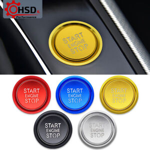 Engine Start Stop Ignition Button Ring Trim For Audi A4 A7 4G8 Q5 B8 A5 8T A6 C7
