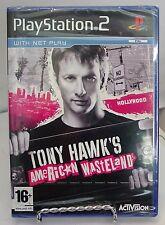 PLAYSTATION 2 (PAL format) - TONY HAWK'S AMERICAN WASTLAND .New-Read