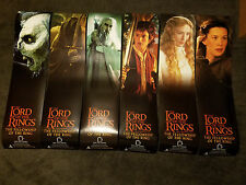 "Lord of The Rings: Fellowship Ring COMPLETE Poster Banner Set of 6 (12"" x 48"")"
